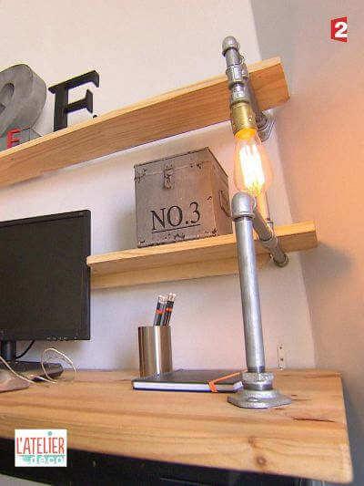 France 2 Atelier Déco Bureau Lumineux