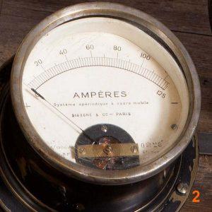 Ampèremètre Sigogne & Cie - Boutique Déco industrielle Pairs