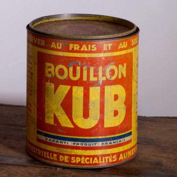 Boîte Kub années 1939-1945 originale