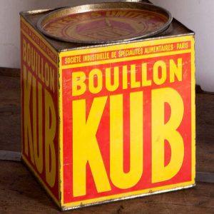 Boîte Kub années 50 orignale
