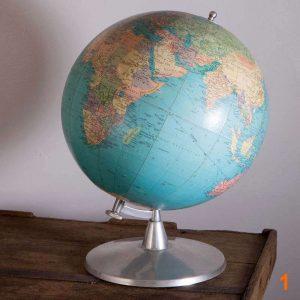 Globe terrestre - Éditions Taride 1971