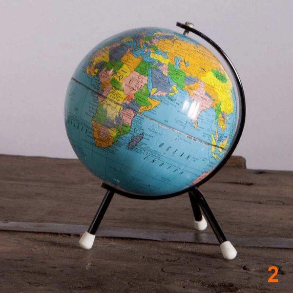 Globe terrestre - Éditions Taride Circa Années 60