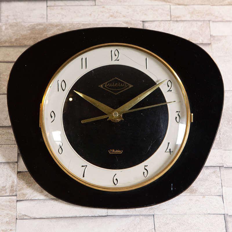 Horloge rétro vintage O-range_metalic