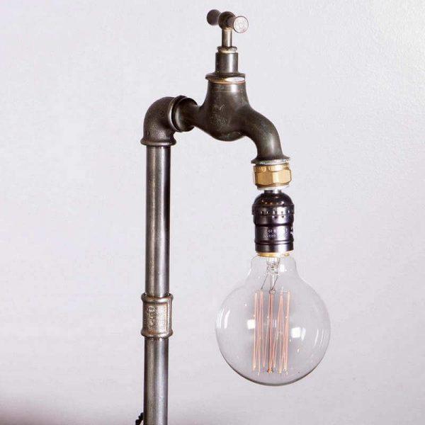 Lampe vintage industrielle O-range Metalic