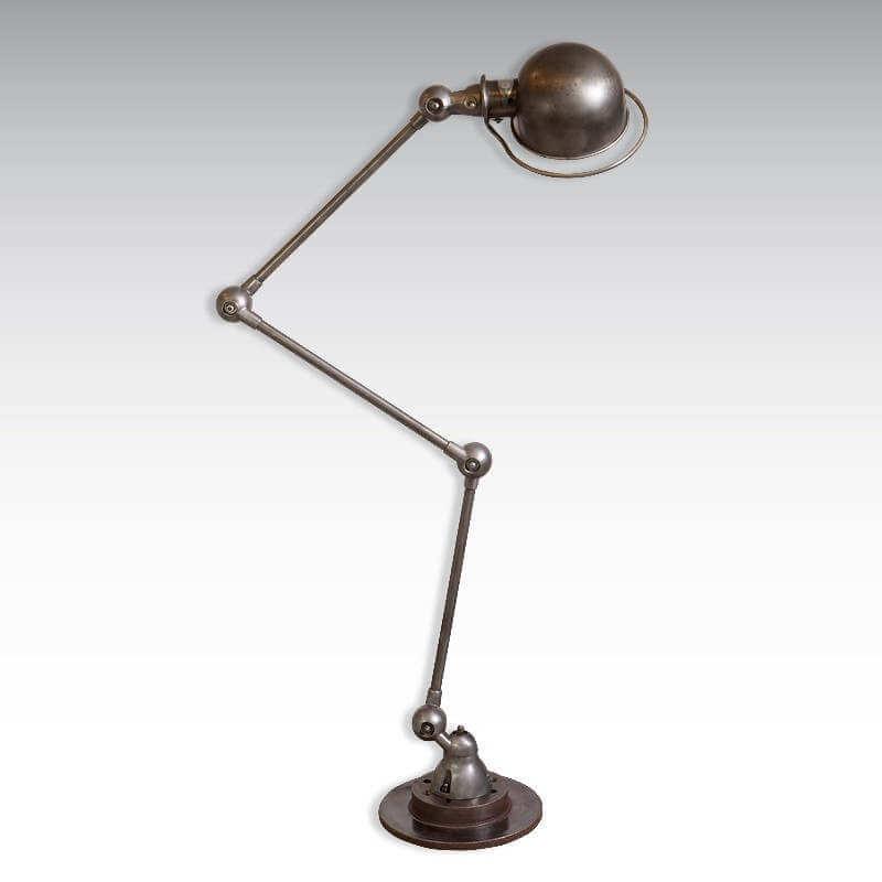 Lampe Jielde Liseuse 3 Bras O Range Metalic Luminaire Vintage Et