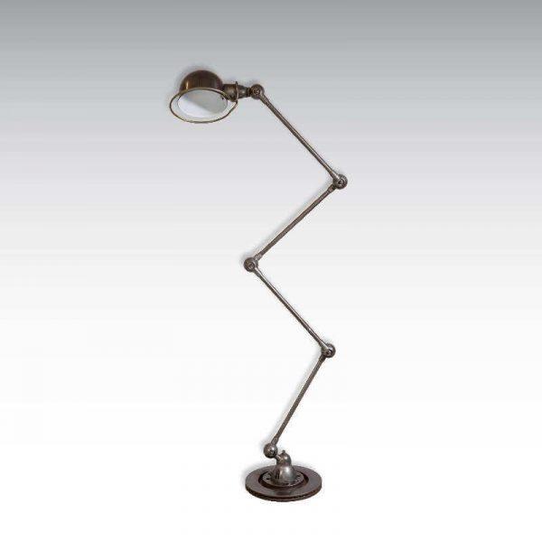 Lampe Jieldé vintage O'range Metalic