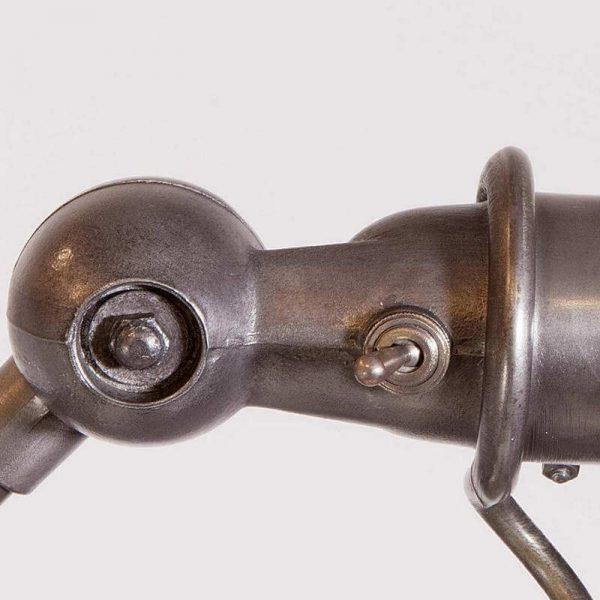Lampe Jieldé 5 bras articulée interrupteur vintage