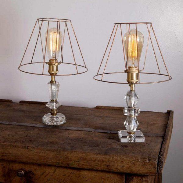 Lampes Art déco ampoule filament