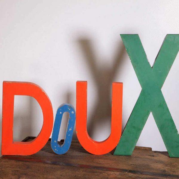 Lettres d'enseignes idée décoration
