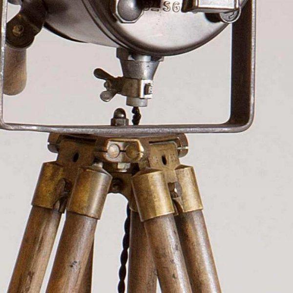 Magnifique Projecteur Cremer 16 cm sur trépied