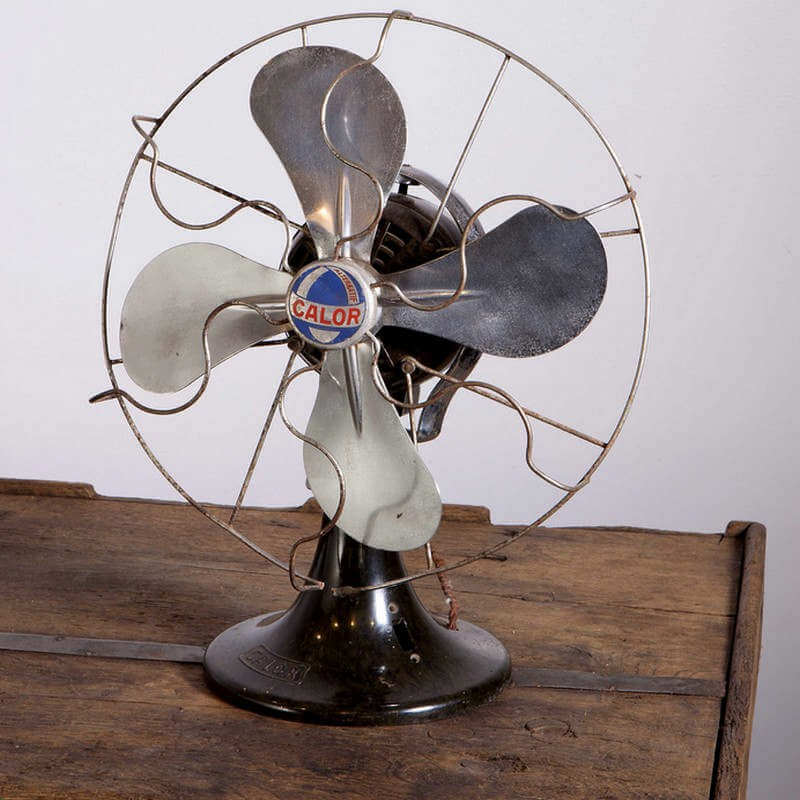 Ventilateur vintage O'range Metalic