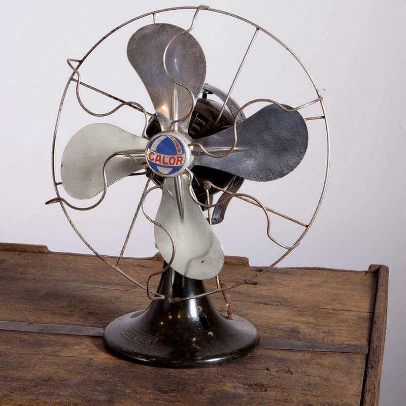 Ventilateur vintage O'range Metalic
