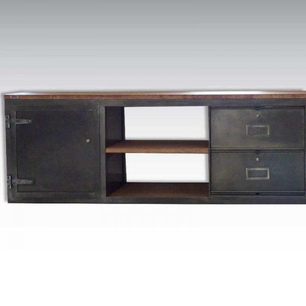 Enfilade loft meuble TV