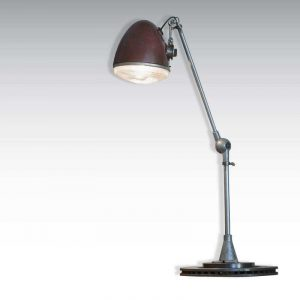 Lampe 2 CV rouge