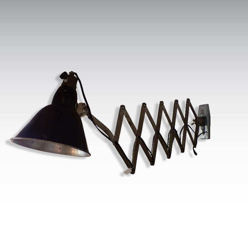Lampe vintage industriel O-range Metalic