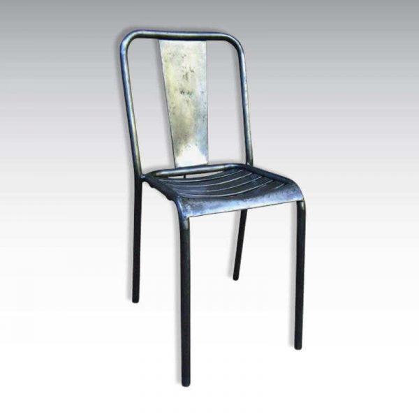 Lot de 4 chaises Tolix T4