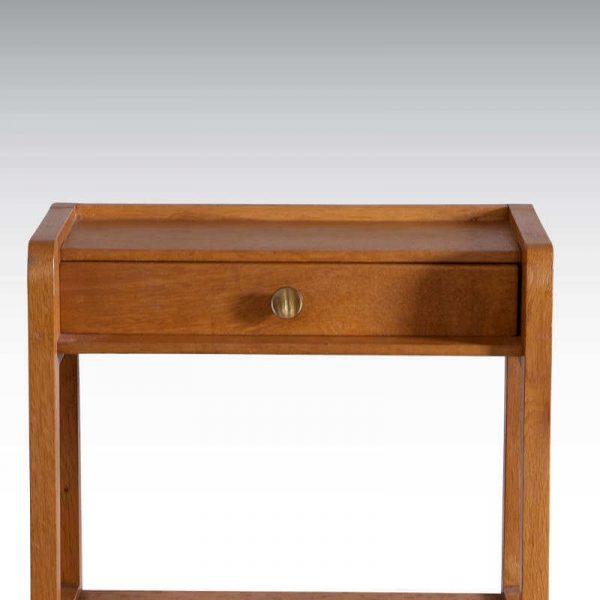 Table de chevet vintage années 60/70 - 1 tiroir