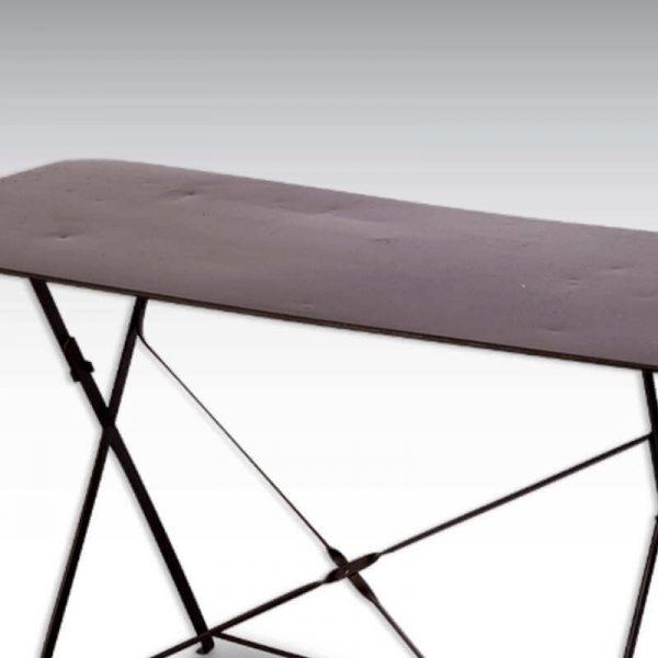 Table pliante métal