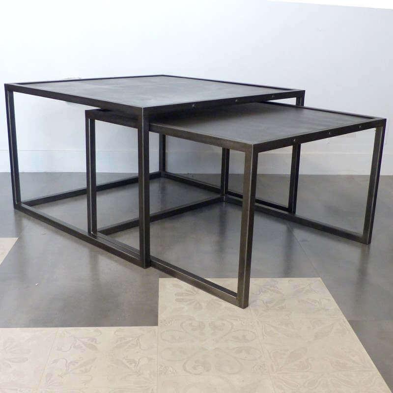 Tables Basses Acier