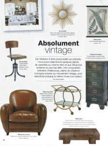 Home - Revue de presse Orange Metalic - Absolument Vintage