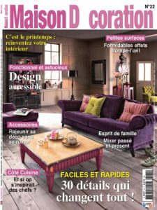 Maison Décoration - Revue de presse Orange Metalic - Appartement Lumière
