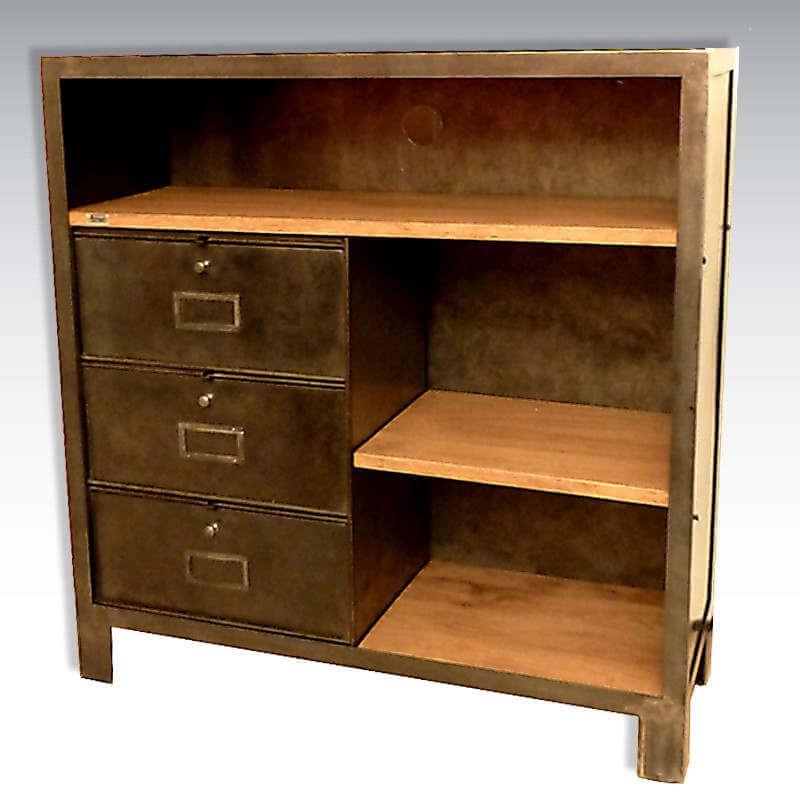 meuble tv clapets sur mesure o 39 range metalic. Black Bedroom Furniture Sets. Home Design Ideas