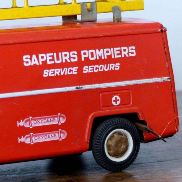 Camion de pompier Joustra