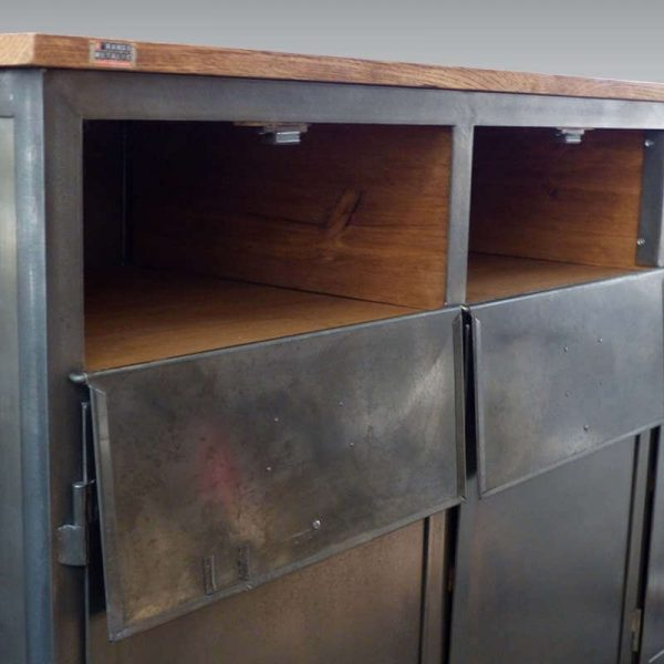 Commode industrielle 3 portes
