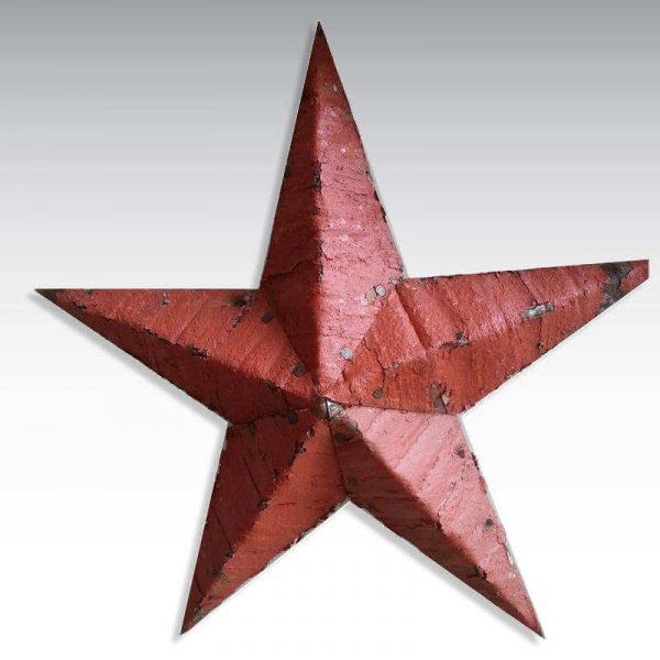 Étoile Amish rouge