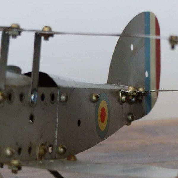 Hydravion biplan Meccano