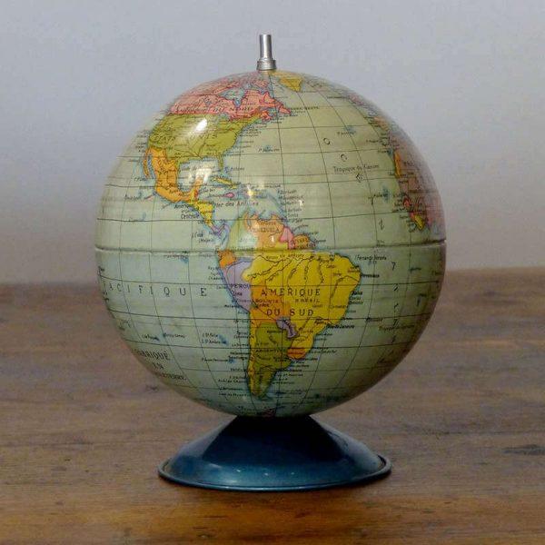 Petit globe acier