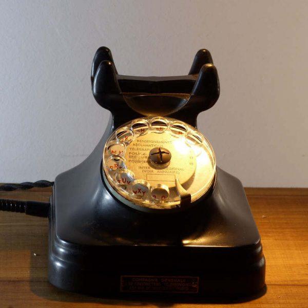 Lampe Téléphone vintage