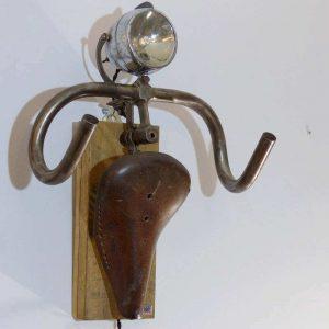 Lampe vintage trophée cycliste