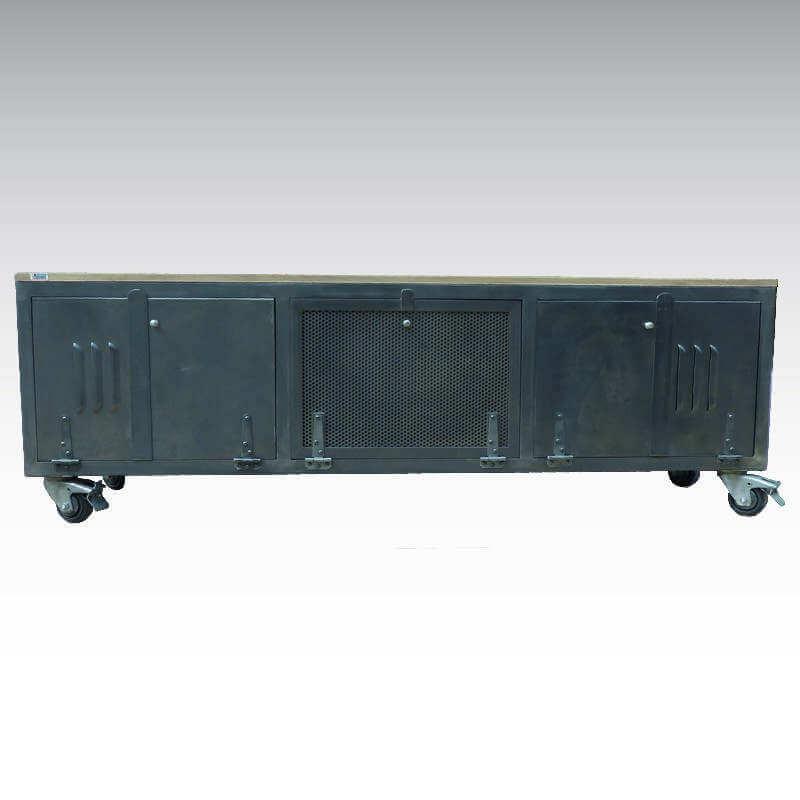 Meuble Tv Loft Style Atelier O Range Metalic