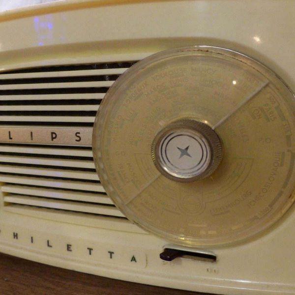 Radio vintage Philips Bluetooth