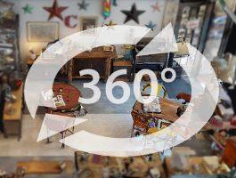 Visite Virtuelle boutique Bievres - Décoration industrielles et Objets Vintage