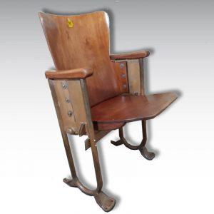 strapontin vintage fauteuil de cinéma