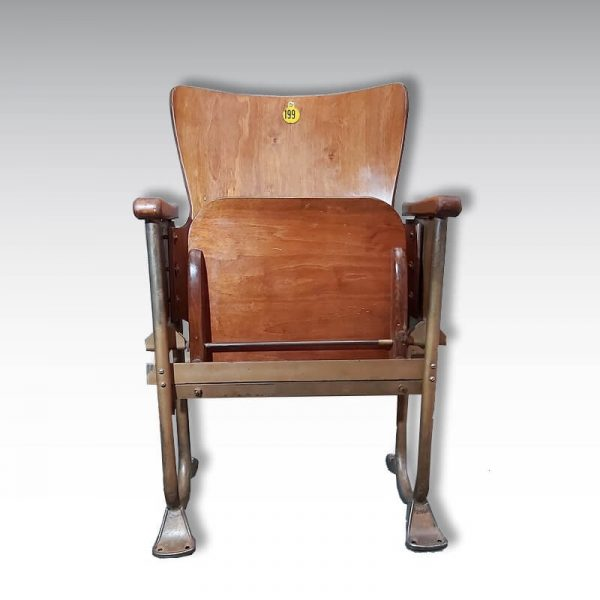 sttrapontin ancien fauteuil de théatre cinéma