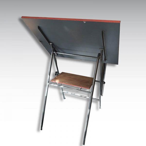 table à dessin architecte vintage industrielle sur pied