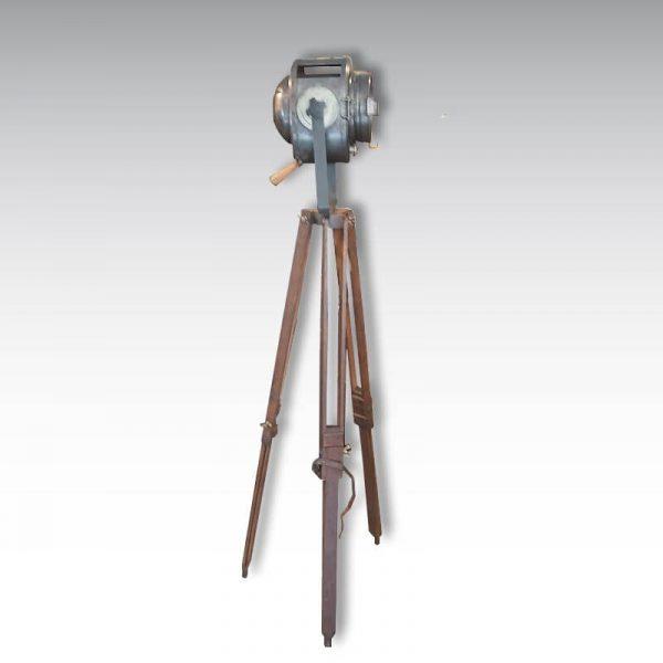 projecteur cremer 16cm trépied bois 120cm