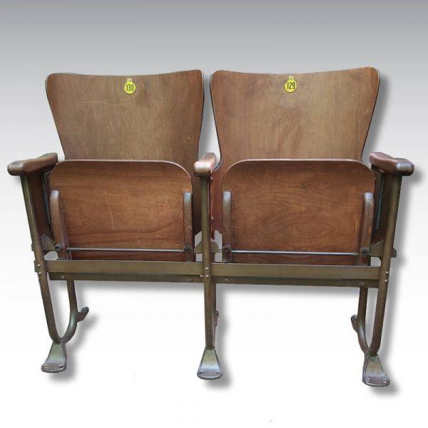 strapontin fauteuil cinéma bois