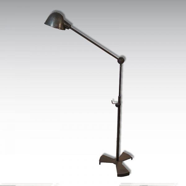 lampe rg levallois atelier garage acier pied fonte