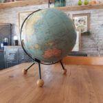 mappemonde globe terrestre taride 1963 tripode