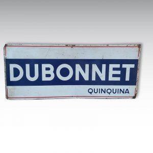 ancienne plaque tole dubonnet quinquinalargeur 135cm