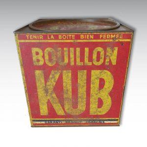 ancienne boite kub cube de bouillon