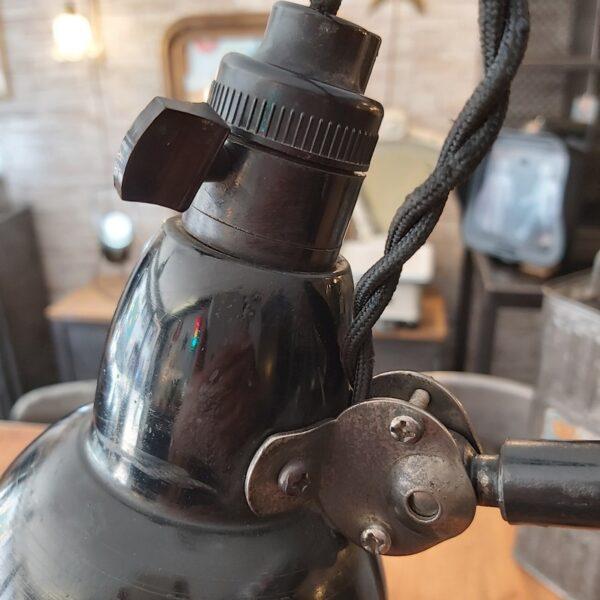 lampa mazda à poser 2 bras et abat jour de 15 cm