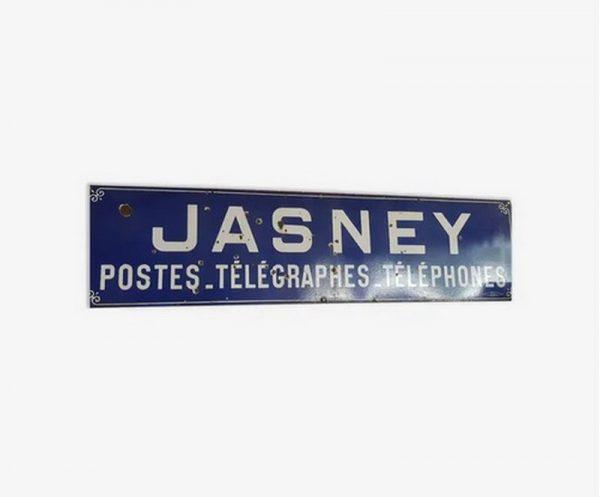 ancienne plaque émaillée Japy