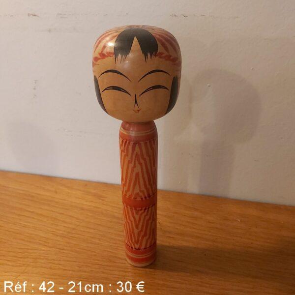 kokeshi poupée japonaise tradition japon jouet en bois