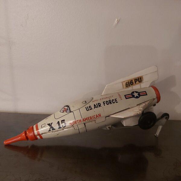 avion en tole ancien jouet joustra francais