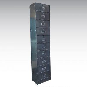 colonne à clapets ronéo mobilier industriel
